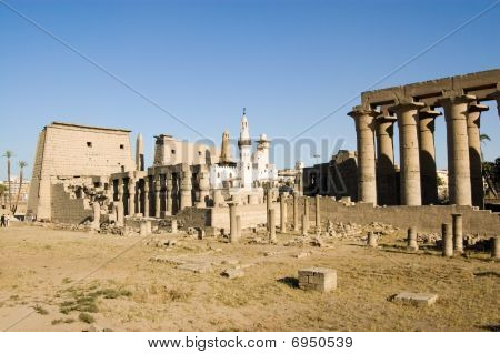 Luxor Temple with Mosque