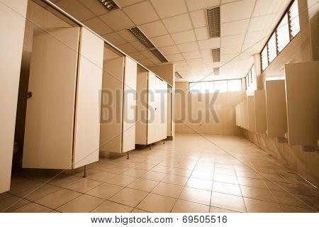 The Large Public Toilet / Urinals.