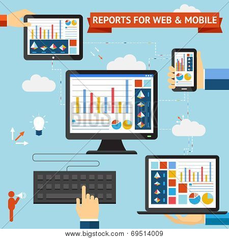 Reports for web and mobile