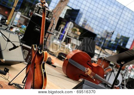 Guitar and musical instruments