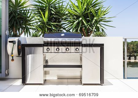 New Double Barbecue Grill