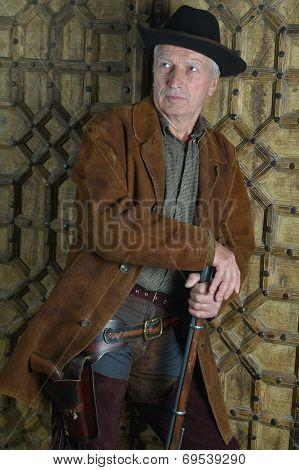Mature male Bandit with gun