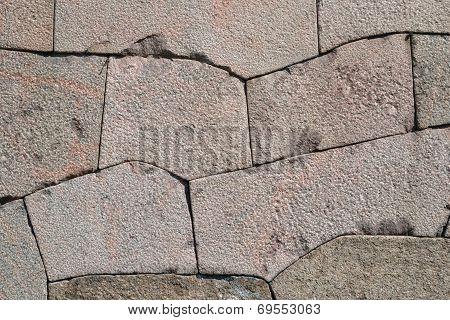Texture Of Granite Wall