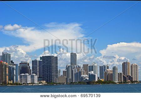 Miami Condominium Skyline