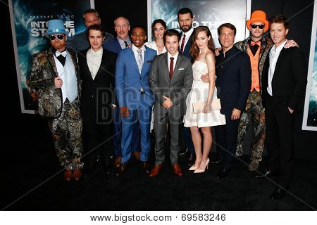 NEW YORK-AUG 4: The cast of