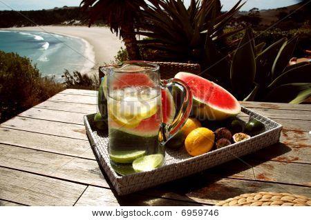 Stokes Bay refreshment