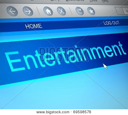 Entertainment Concept.
