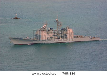 The USS Lake Champlain (CG-57)