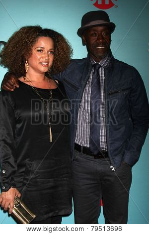 LOS ANGELES - JAN 5:  Don Cheadle at the Showtime Celebrates All-New Seasons Of