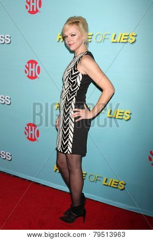 LOS ANGELES - JAN 5:  Emily Bergl at the Showtime Celebrates All-New Seasons Of