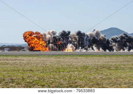 Airfield Explosion