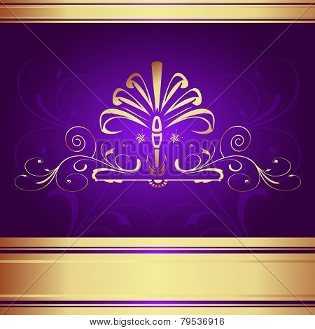 Background-Elegant Purple for Wedding or Corporate Background