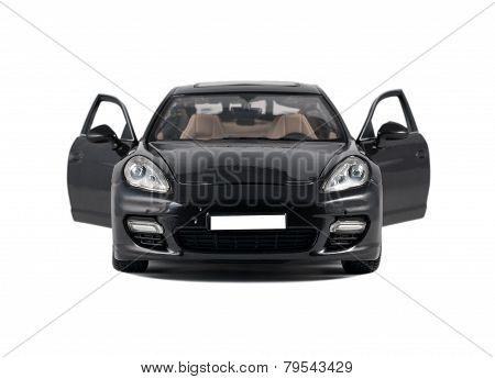 Car Porsche Panamera Turbo Front View