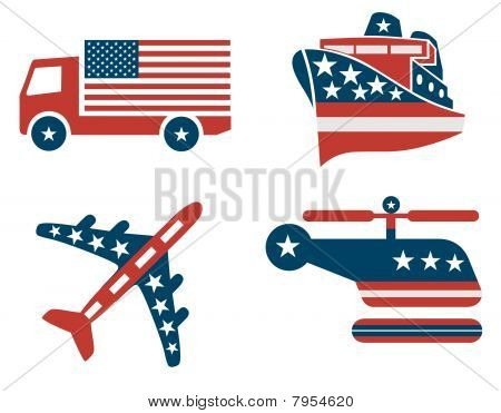 Patriotic Transport Signs