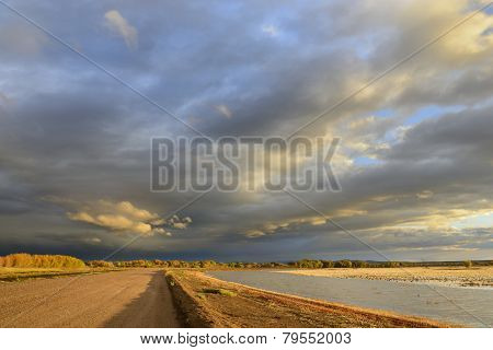 Dramatic Morning Clouds in New Mexico