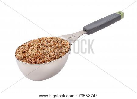 Flax Seed Meal In Measuring Cup