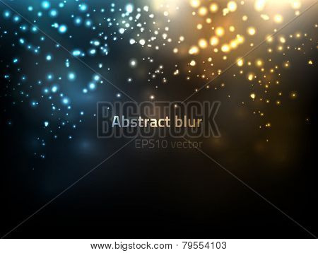 EPS10 vector abstract blur