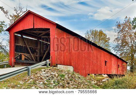 The Oakalla Covered Bridge