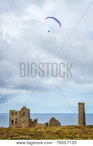Wheal coates tin mine in cornwall england uk