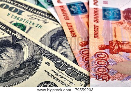 Us dollar Russian rouble Banknotes