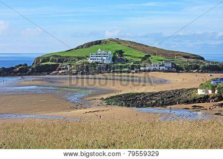 Bigbury beach
