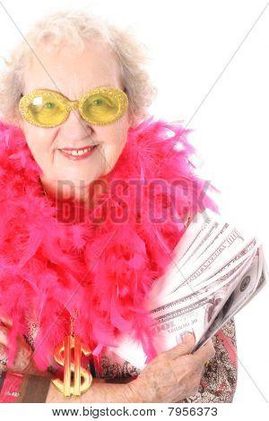 赢了乐透的祖母