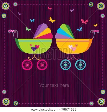 Cute baby strollers