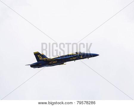 Blue Angel Number Five Plane