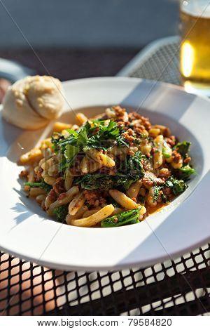 Sausage Broccoli Rabe Dish