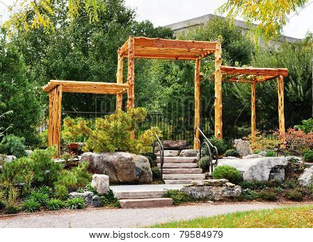 Garden corner.