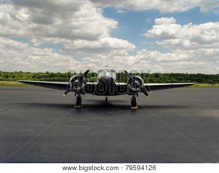 Vintage Beechcraft Model 18