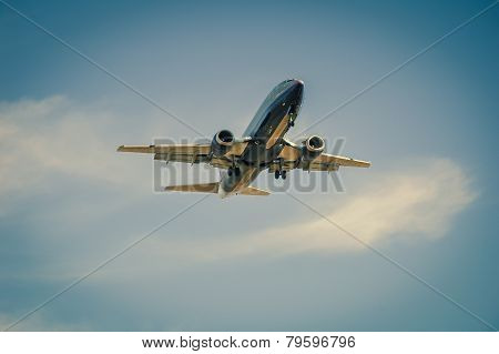 Commercial Airliner at Take-off