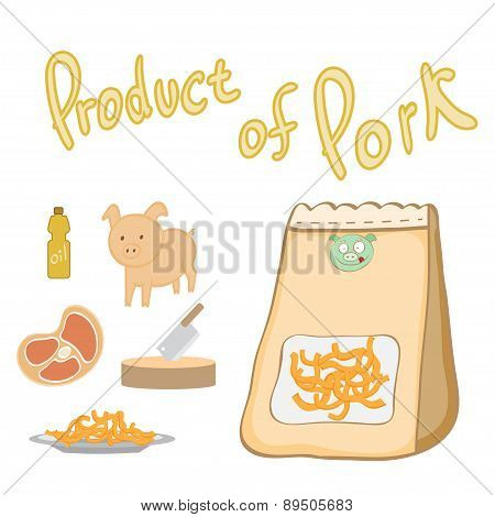 Product Of Pork For Cooking