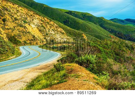 California Countryside Highway