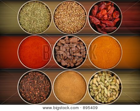 Nine Different Spices