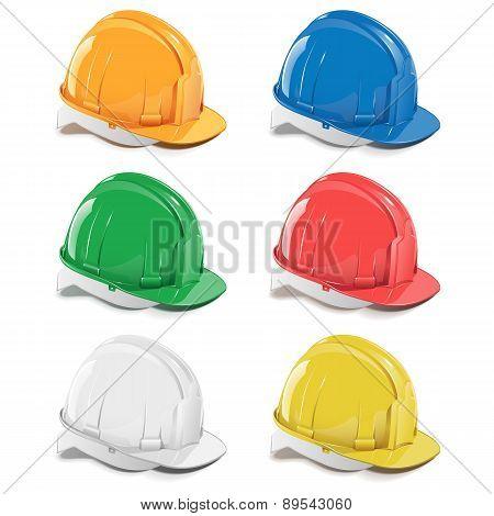Vector Helmet Icons