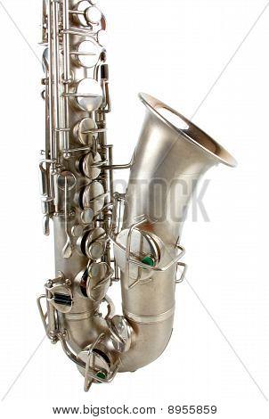 Silver Tenor Sax