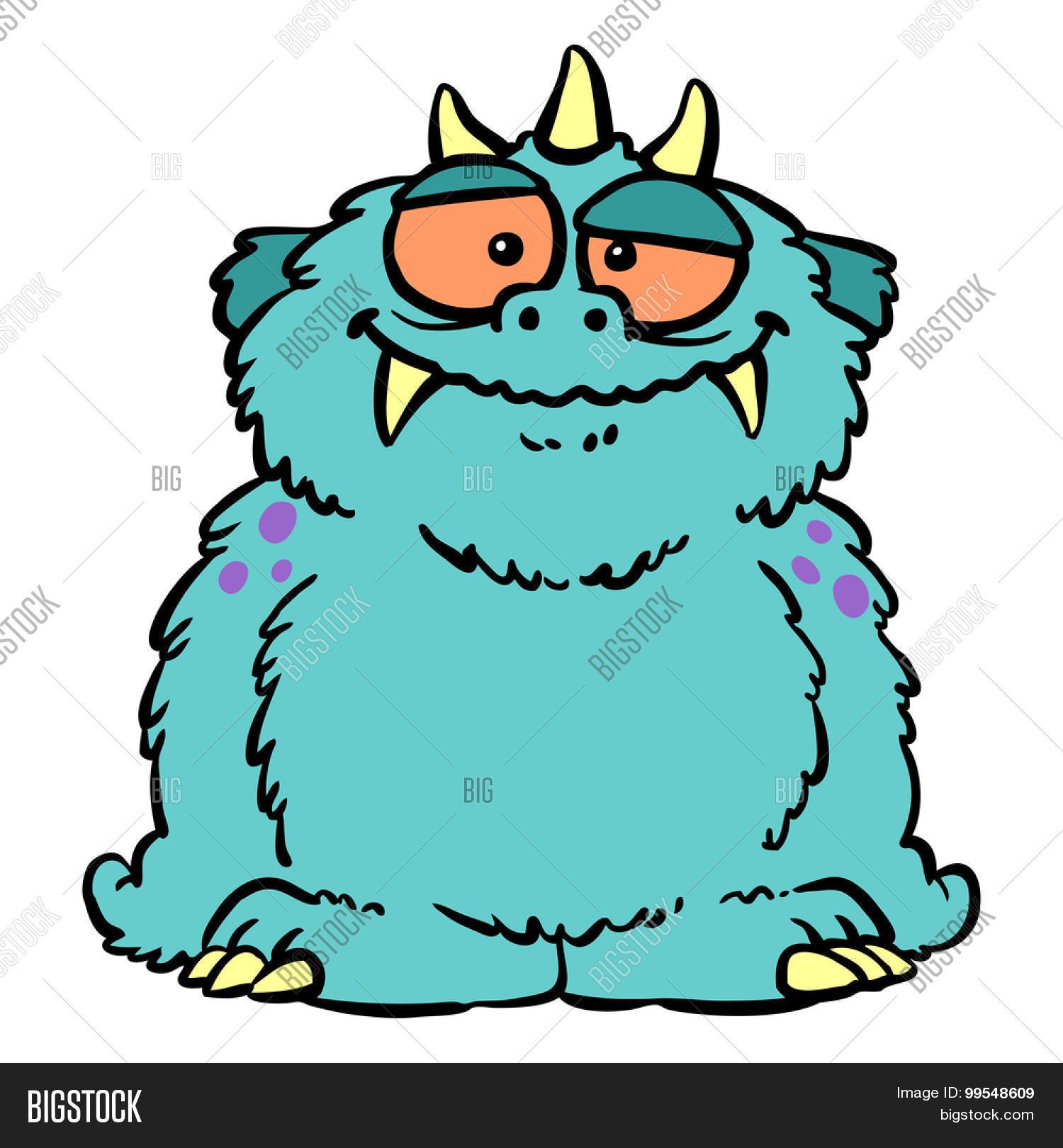 cute furry blue image photo free trial bigstock