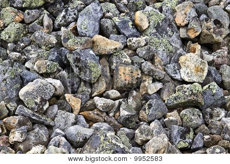 Background Of Rocky Gravel Stones