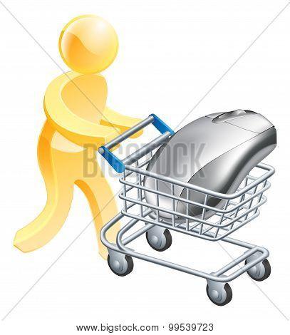 Internet Online Shopping Concept
