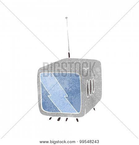 retro cartoon television