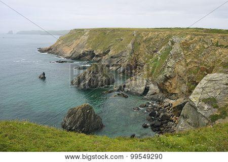Cliffs At Renny Slip
