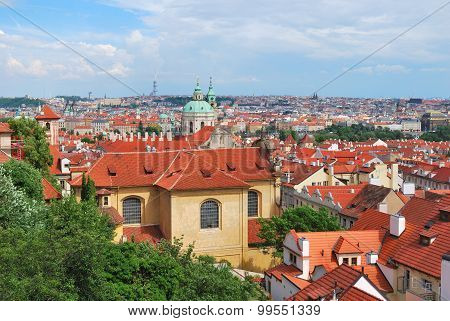 Top-view Of Prague