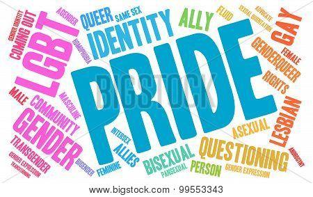 Pride Word Cloud