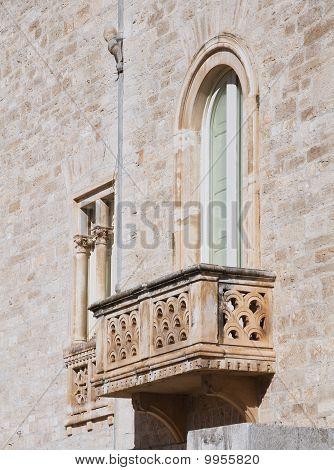 Griffi Palace. Ruvo di Puglia. Apulia.