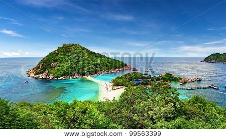 Beautiful Beach Of Koh Tao, Thailand