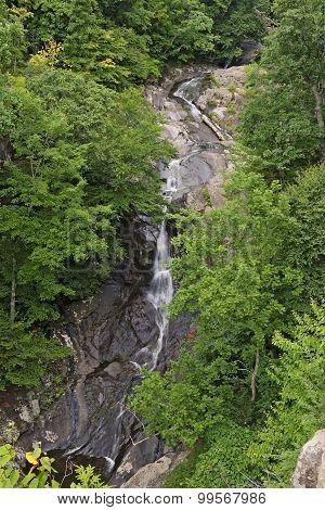 Upper Whiteoak Falls In Shenandoah National Park