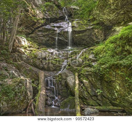 Lower Doyles River Falls, Shenandoah National Park