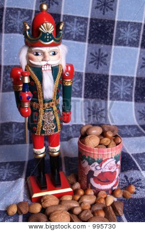 Kingly Nutcracker With Nuts