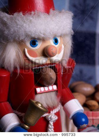 Santa Nutcracker And Pecan